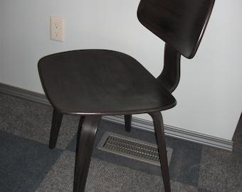 Handpainted Vintage Mid Century Bentwood Modern Thonet Chair