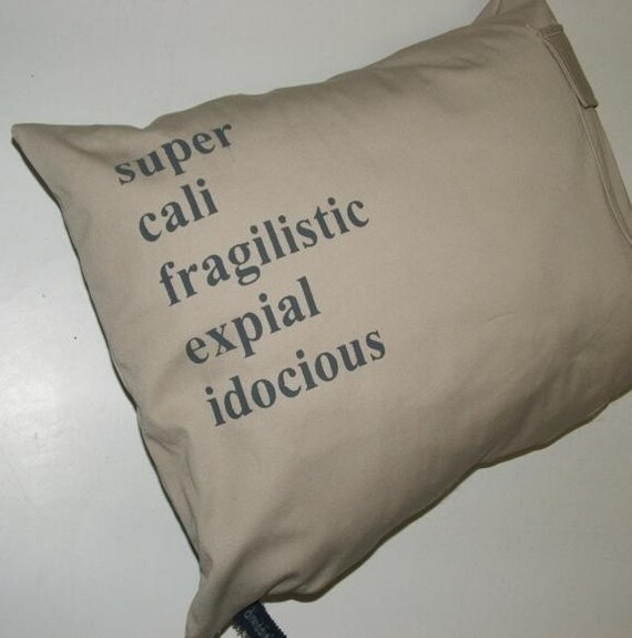 Mary Poppins Cargo pillow