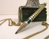 Joan Vintage Pencil Secretary Necklace