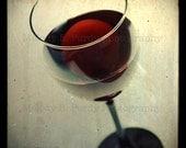 Wine Glass 8x8 Photo