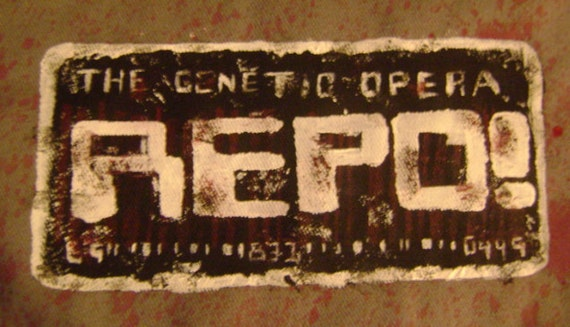 Repo The Genetic Opera Fan Made Bag - Custom Made - Made to Order