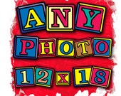 Enlargement Photo Pricing of 12x18 for any of my Images