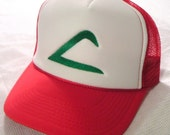 Pokemon Costume Hat Ash Ketchum Original Trainer Hat Halloween costume cap
