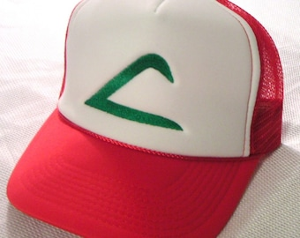 Pokemon Costume Hat Ash Ketchum Original Trainer Hat Halloween costume cap