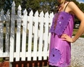 Purple Fairy Dreams Apron Skirt or Top