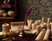 Phoenix Feather Quill and Ink Pot - HOGWARTS / LOTR RANGE
