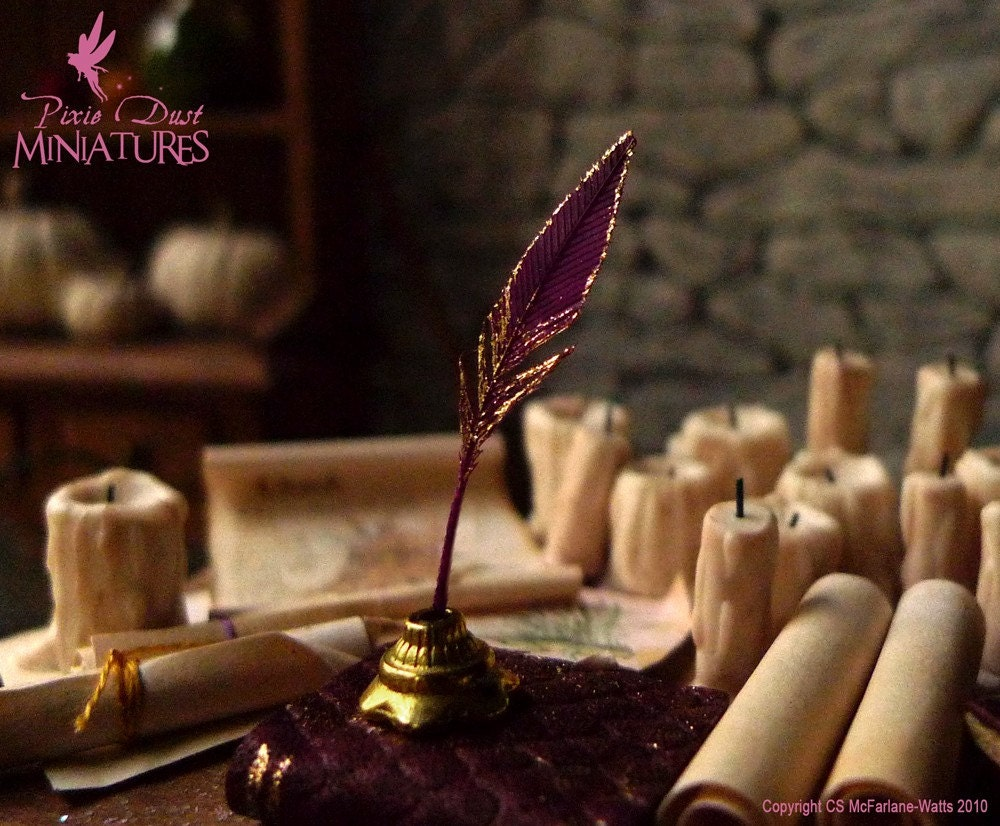Phoenix Feather Quill and Ink Pot HOGWARTS / LOTR RANGEQuill And Ink Store