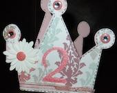 2nd Birthday Princess Card