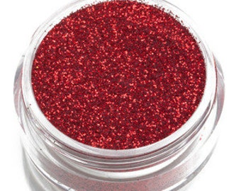 Candy Apple Red Glitter