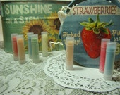Smooth and Silky Lip Balm ---Blue Raspberry, Vanilla Icing, Chocolate, Cafe Latte, and many more---