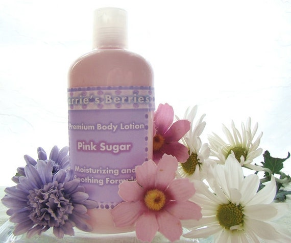 Creamy and Smooth Body Lotion--with shea butter, almond oil, and aloe vera oil--Paraben Free