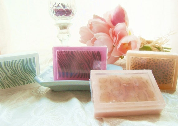 Embrace your Wild Side--Wild Africa Soap--Great Party Favor or Gift--