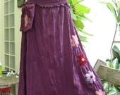 Nothing to Worry About Long Skirt II - Purple