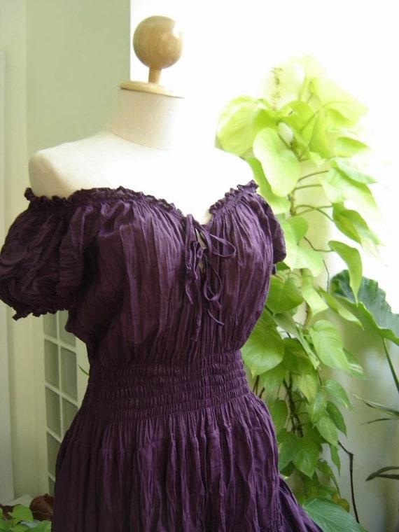 Princess Cotton Dress II - Purple