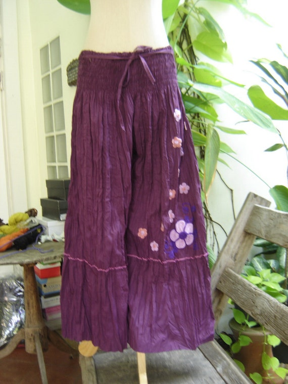 Nothing to Worry About Pants IV - Purple