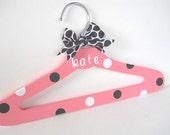 Personalized Flower Girl Hanger, Baby Shower, New Baby Gift  Newborn children's decor