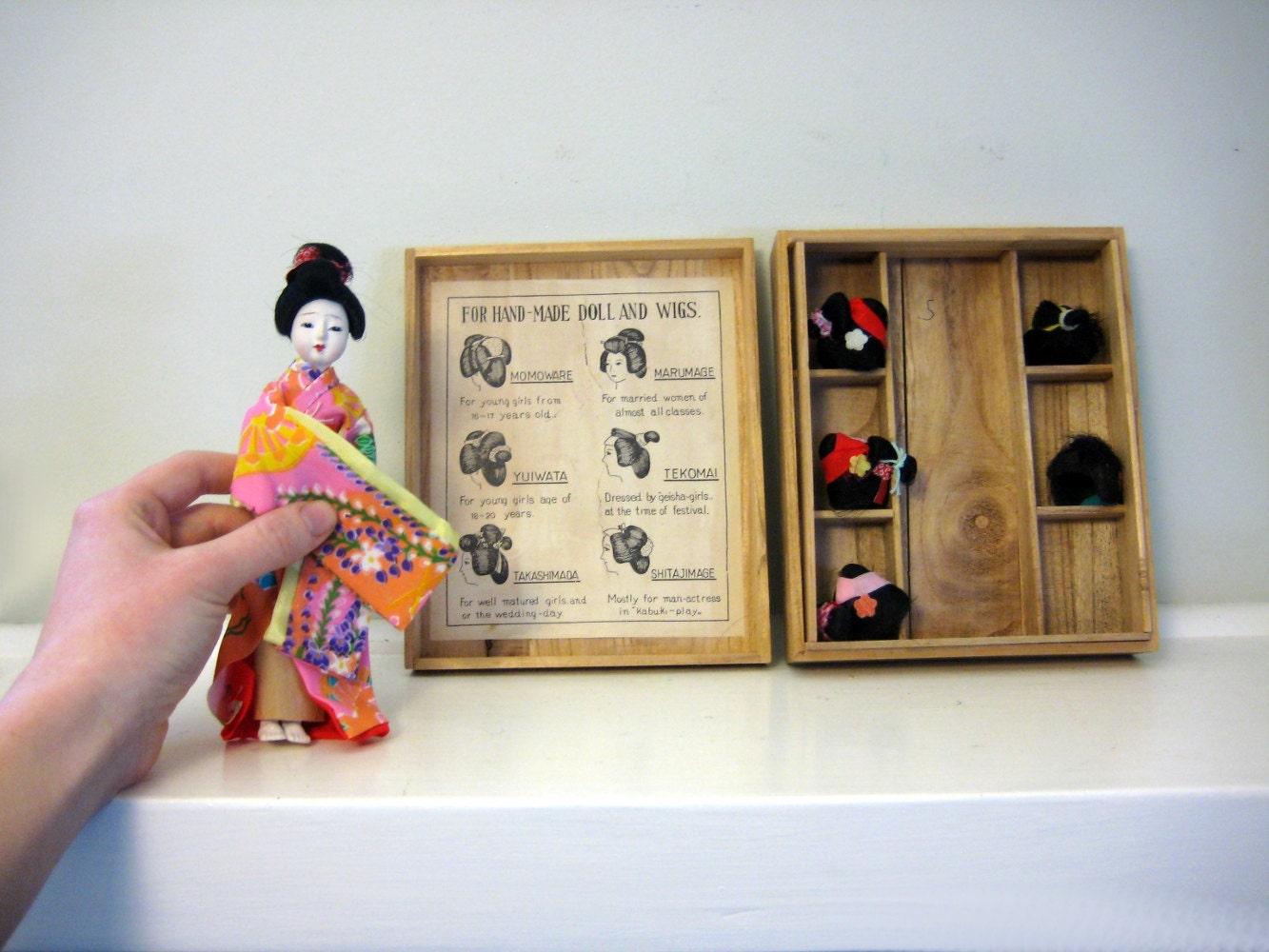 Geisha Doll Wigs 29