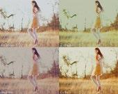 SALE//// 8 Vintage Action SET // ANTIQUATED Collection