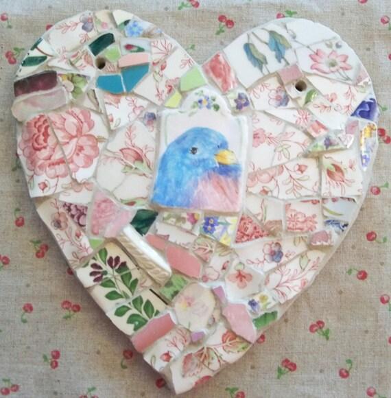 HEART Mosaic      Garden Visitor