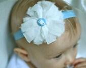 UNC Baby Pompom elastic