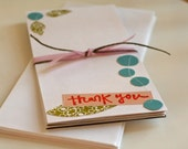 All Purpose Colorful Thank You Cards: Set of 5