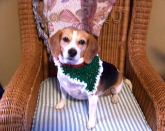 Dog Bandana Betty Beagles Festive Holiday Bandana's