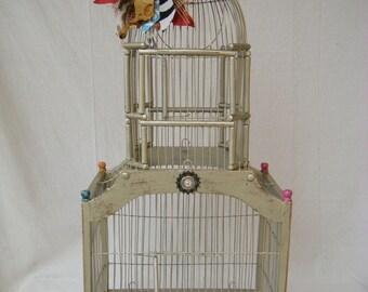 Decorative Shabby Birdcage