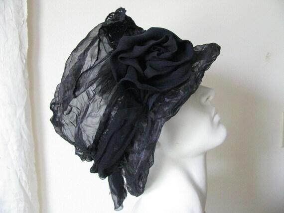Whimsical Silk Cloche Hat