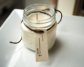 Rain Water Soy Candle - 8 Ounce Mason Jar