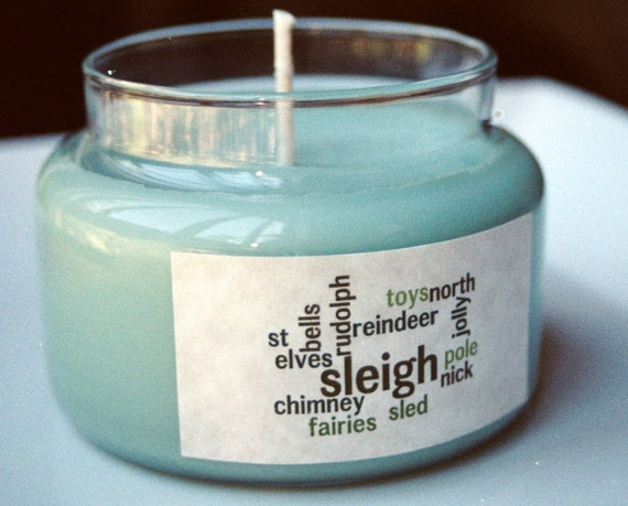 Christmas Tree Scented - 10 Ounce Apothecary Jar