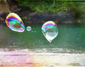 Bubbles At The Beach   A Signed Fine Art Photograph