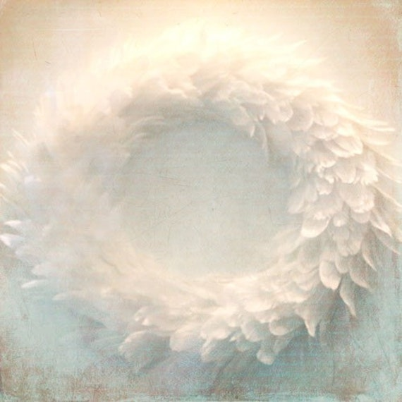 White Wreath A Signed Fine Art Photograph