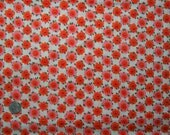 1950s Vintage Cotton Fabric - Pink Aura