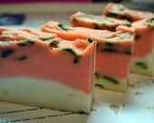 Homegrown Spearmint Patchouli soap bar
