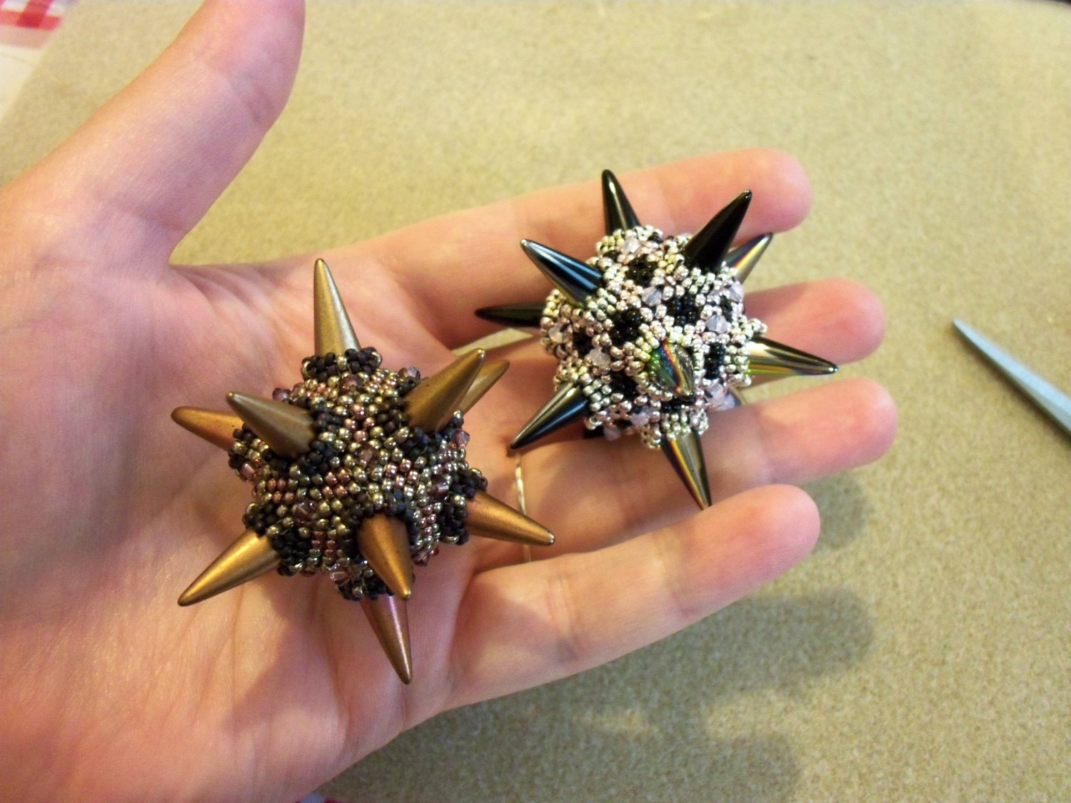 TUTORIAL: Spike Ball Dodecahedron - photo#8
