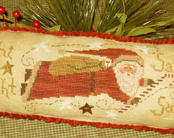 Such Delights -- Cinnamon Stick Santa XXIII