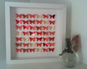 Red and gold butterfly picture