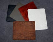 Exotic Leather Mouse Pads
