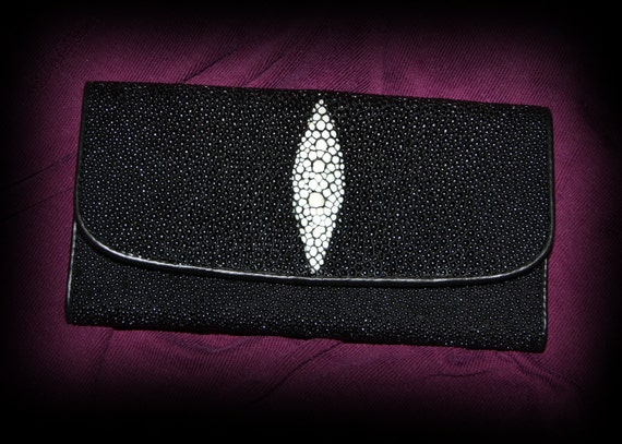 Reserved - Authentic Stingray Clutch Wallet