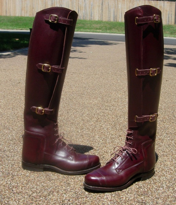 Cordovan Dehner Riding Boots Military Cavalry Equestrian