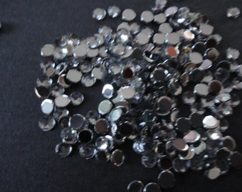Clear rhinestonne 3 mm decoden deco diy  200 pcs--USA seller