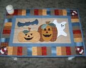 Spooky Halloween Table Runner