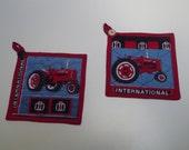 Farmall Tractor Potholder Set (Reduced)