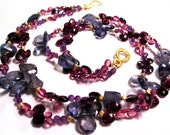 Berry Gemstone Necklace