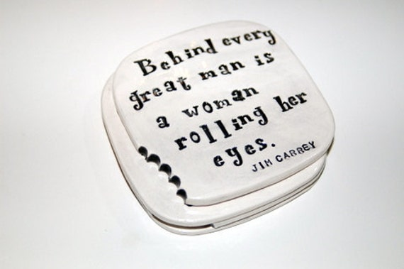 Funny Coasters with a bite set of 4