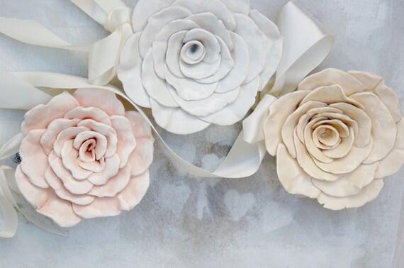 Danish Blue Shabby Chic  Rose