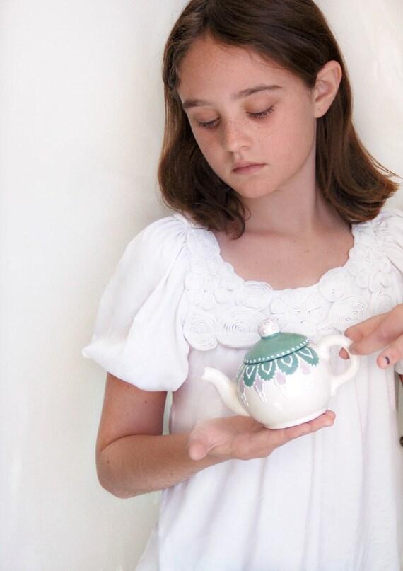 Miniature fairy teapot