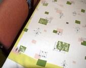 Vintage Mid-Century Modern Tablecloth