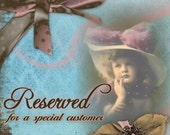 Reserved Listing for Laura Flores