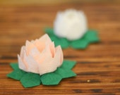 Small Origami Handmade Lotus Paper Flower (pick your color) - Perfect for Weddings, Decoration, and Gifts